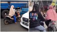 Bak penguasa jalanan, ini deretan akis ibu-ibu yang sukses curi perhatian. (Sumber: Twitter/@izy_bensa)