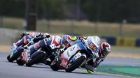 Pembalap Pertamina Mandalika SAG Team, Bo Bendsneyder di balapan Moto2 Prancis. (Dokumentasi Pertamina Mandalika SAG Team)