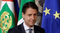 Perdana Menteri Italia Giuseppe Conte (AP/Gregoria Borgia)