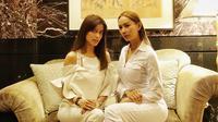 Sabrina Chairunnisa dan Kalina Ocktaranny [foto: instagram/sabrinachairunnisa_]