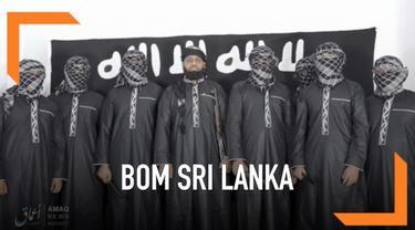 ISIS mengklaim bertanggung jawab atas teror bom yang terjadi di beberapa titik di Sri Lanka. Mereka juga merilis foto para pelaku pengeboman.