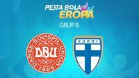 Piala Eropa - Euro 2020 Denmark Vs Finlandia (Bola.com/Adreanus Titus)