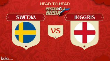 Berita video head-to-head Piala Dunia Rusia 2018: Swedia vs Inggris.