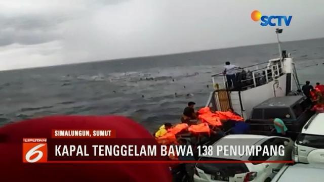 KM Sinar Bangun yang mengangkut 138 penumpang tenggelam di perairan Danau Toba, Sumatera Utara. Seorang penumpang dikabarkan meninggal dunia.