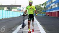 Eks Raja road race Asia, M. Fadli, kini menjadi atlet andalan balap sepeda di Asian Para Games 2018.