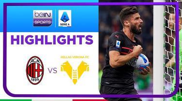 Berita Video, Hasil Pertandingan AC Milan Vs Hellas Verona pada Minggu (17/10/2021)