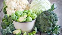 Ilustrasi brokoli dan sayuran (iStockphoto)