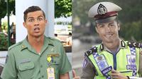 6 Editan Foto Cristiano Ronaldo Jika Jadi Petugas Keamanan Ini Kocak (sumber: Instagram/indra.hakim)