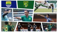 Kolase - Piala Menpora, Persib Bandung, Persebaya Surabaya (Bola.com/Adreanus Titus)