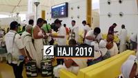 Tiba di Bandara Madinah banyak jemaah haji bingung dibagikan kartu perdana gratis. 3 Operator Arab Saudi melakukan jemput bola layanan kepada jemaah haji Indonesia mereka membagikan kartu perdana gratis bagi jemaah haji dengan jangka waktu tertentu.