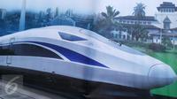 Gambaran kereta cepat Jakarta-Bandung (Liputan6.com/ Ilyas Praditya)