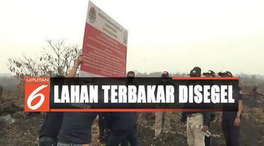 Lahan PT RKK sebelumnya juga terbakar pada tahun 2015 silam dan digugat perdata oleh Kementrian LHK.