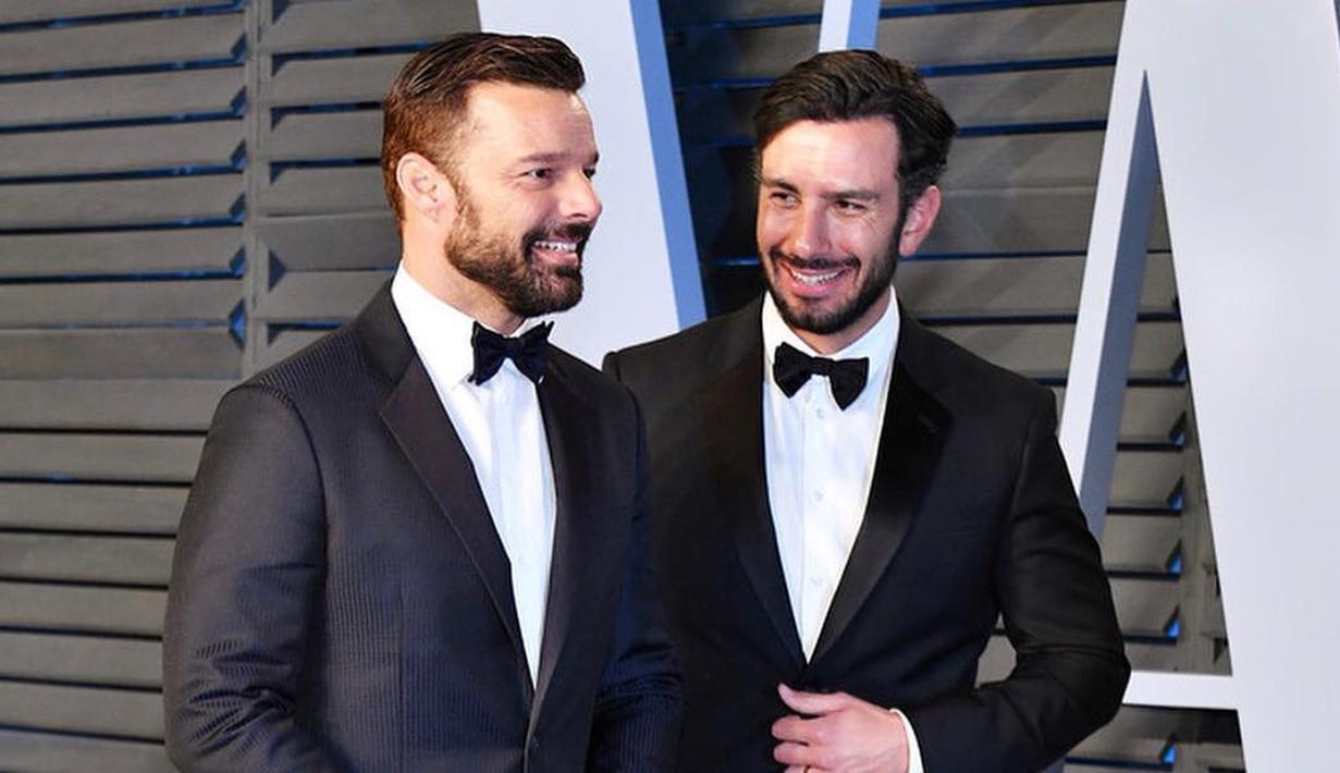 Pernikahan Ricky Martin dan Jwan Yosef sempat menghebohkan. Di acara Elle DeGeneres Show pada bulan November 2016 ia mengungkapkan cara melamar Jwan. (instagram/jwanyosef)