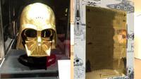Menyambut film terbaru Star Wars, perusahaan ini membuat helm Darth Vader serta Kalender Star Wars dari emas