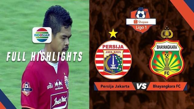 Berita video highlights Shopee Liga 1 2019 antara Persija Jakarta melawan Bhayangkara FC yang berakhir dengan skor 1-1, Sabtu (10/8/2019).