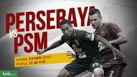 Shopee Liga 1 2019: Persebaya Surabaya vs PSM Makassar. (Bola.com/Dody Iryawan)