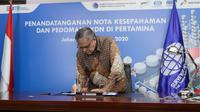 Surveyor Indonesia tandatangani kerja sama dengan Pertamina (dok: Humas)