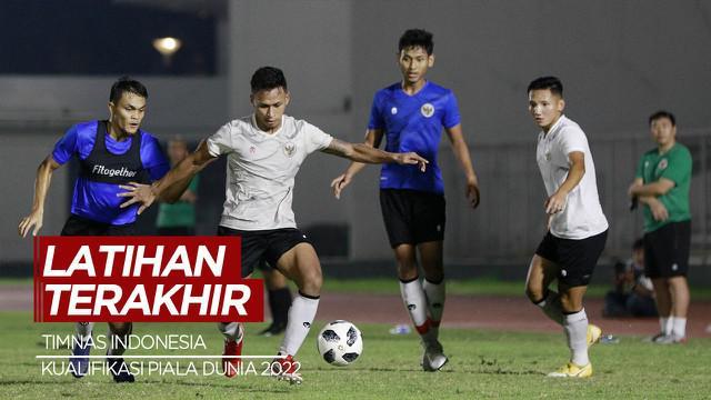 Berita Video Timnas Indonesia Jalani Latihan Terakhir Sebelum Berangkat ke Dubai