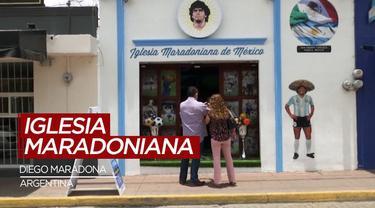 Berita Video Melihat Gereja Diego Maradona di Argentina