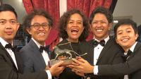 Film pendek Kado raih penghargaan di Festival Film Internasional Venice ke-75. [foto: instagram/mirles]