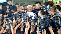 Hilmi Aminudin saat memberikan keterangan pada media di kawasan Kuningan, Jakarta