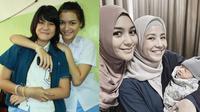 Sahabat Sejak SMA, Ini 6 Momen Natasha Rizky Gendong Bayi Citra Kirana (sumber: Instagram.com/natasharizkynew)