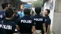 7 Orang positif narkoba juga diamankan usai penggerebekan Kampung Berlan.