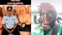 Viral Dulu Istri Pejabat Kini Jadi Driver Ojol, Kisah di Baliknya Bikin Haru (Sumber: TikTok/@galuh_boengas)
