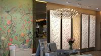 Mengintip inspirasi dinding rumah bernuansa taman untuk interior yang lebih segar. (Foto: Dok. Zantob)