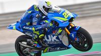 Andrea Iannone mencatatkan waktu tercepat pada tes hari kedua MotoGP di Sirkuit Losail, Qatar. (doc. MotooGP)