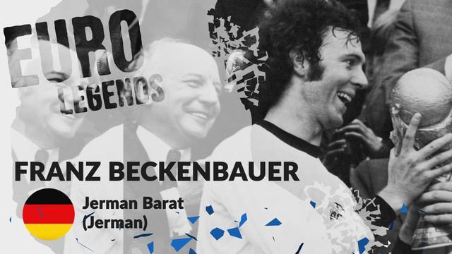Berita motion grafis profil legenda Franz Beckenbauer, si cerdas jenderal lapangan tengah Jerman.