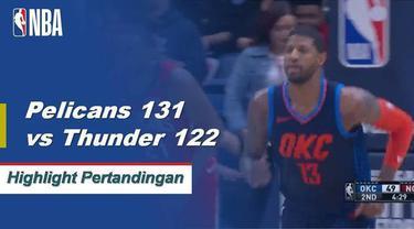Julius Randle menyarangkan 33 poin dan 11 rebound saat New Orleans mengungguli Oklahoma City.