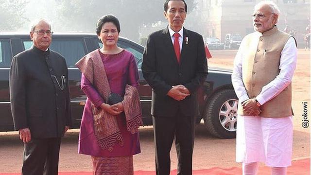 Gaya Busana Baju Kurung Ala Ibu Iriana Jokowi Lifestyle Liputan6 Com
