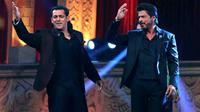 Shahrukh Khan dan Salman Khan (Times of India)