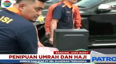 Polda Jawa Barat mengungkap kasus penipuan dan penggelapan pemberangkatan haji dan umrah yang di lakukan oleh PT Solusi Balad Lumampah.