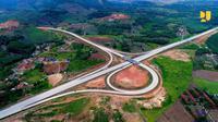 Proyek Tol Trans Sumatera. (Dok Kementerian PUPR)
