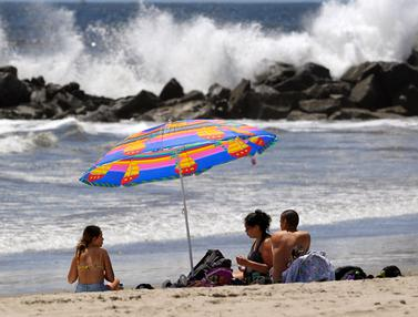 Pantai-Pantai di Los Angeles Kembali Dibuka Usai Pelonggaran Lockdown