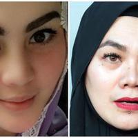 Sarita Abdul Mukti menulis kata 'pendosa' dalam postingannya. Ia sedang menyindir Jennifer Dunn? (Bintang Pictures)