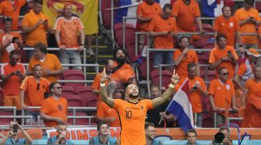 Memphis Depay - Belanda - Euro 2020