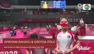 Berita Video, Komentar Greysia Polii / Apriyani Rahayu usai Raih Kemenangan Melawan Unggulan Jepang pada Selasa (27/7/2021)