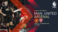 Manchester United vs Arsenal (Liputan6.com/Abdillah)