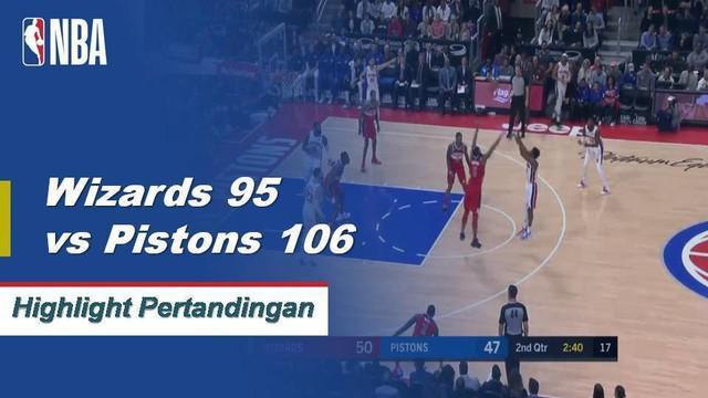 Blake Griffin mencetak 23 poin dan meraih sembilan rebound saat Detroit mengalahkan Washington.