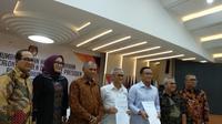 KPU mengumumkan Laporan Harta Kekayaan Penyelenggara Negara (LHKPN) capres-cawapres di Kantor KPU, Jakarta, Jumat (12/4/2019). (Liputan6.com/Delvira Hutabarat)