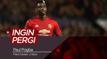 Berita video tentang keinginan Paul Pogba yang sempat ingin pergi dari Manchester United.