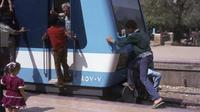 Ilustrasi kereta api di Mesir (dok.unsplash/ Brett Jordan)