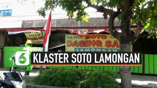 Pemkot Yogyakarta menginformasikan ada 25 orang postif covid-19 di klaster soto Lamongan. Pemkot terus melakukan tracing setelah salah satu pedagang di lokasi itu positif covid-19.