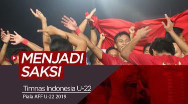 Berita video Vlog Bola.com kali ini adalah menjadi saksi Timnas Indonesia U-22 menjuarai Piala AFF U-22 2019 di Kamboja.