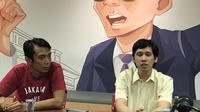 Ananda Badudu menggelar jumpa pers di Jakarta. (Liputan6.com/Putu Merta Surya Putra)