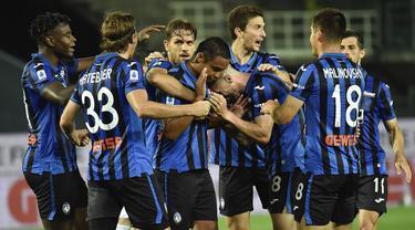 Tekuk Sampdoria, Atalanta Gusur Inter Milan dari Tiga Besar