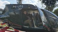 Ketua KPK Firli Bahuri diadukan ke Dewan Pengawas KPK lantaran diduga melanggar kode etik bergaya hidup mewah dengan menaiki helikopter saat bertolak dari Palembang ke Baturaja. (Dok Istimewa)